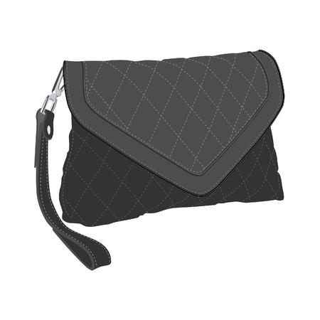 clutch bag: Clutch bag, clutch purse, clutch bag isolated Stock Photo