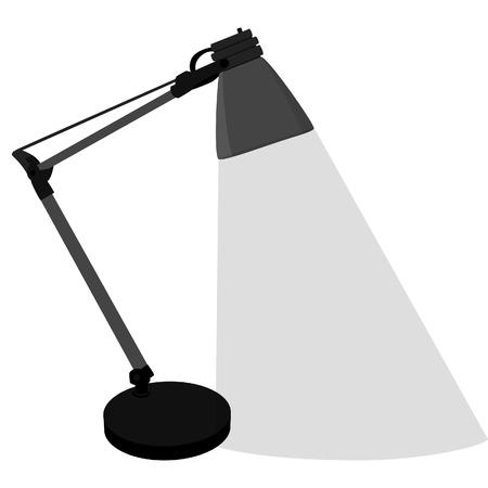 table lamp: Table lamp, desk lamp, table lamp isolated, modern table lamp