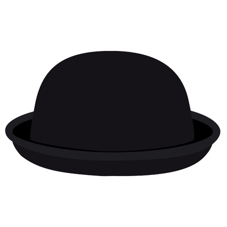 bowler hat: Black woman bowler hat. Derby hat. Fashion, glamour winter hat