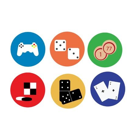 play icon: Illustration of  game, game icons, video game icon, play icon, game console