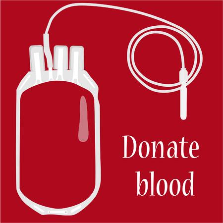 血液バッグ、献血、血液 tranfusio、医学 写真素材