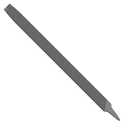 rasp: Vector illustration  file hand tool for wood crafting. Bench instrument. Illustration