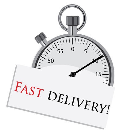countdown: Stopwatch, stopwatch raster, fast delivery, countdown, stopwatch isoletd