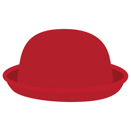 bowler hat: Red woman bowler hat. Derby hat. Fashion, glamour winter hat