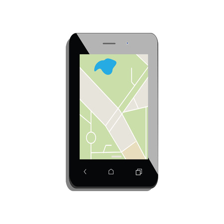 gps device: Mobile smartphone with gps navigation. Gps device. Navigation map. Gps navigator
