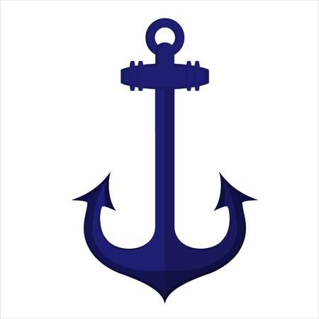 ship anchor: Vector illustration  ship anchor icon.