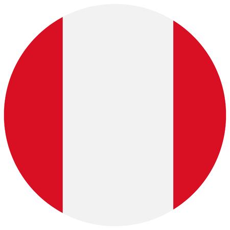 bandera de peru: Ilustración de la trama de la bandera de Perú. bandera natianal ronda de Perú. bandera peruana
