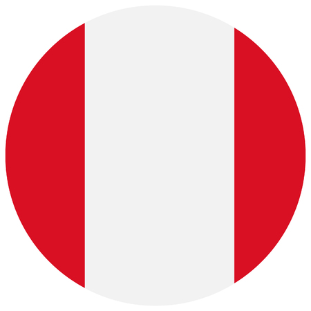 bandera de peru: Ilustraci�n de la trama de la bandera de Per�. bandera natianal ronda de Per�. bandera peruana