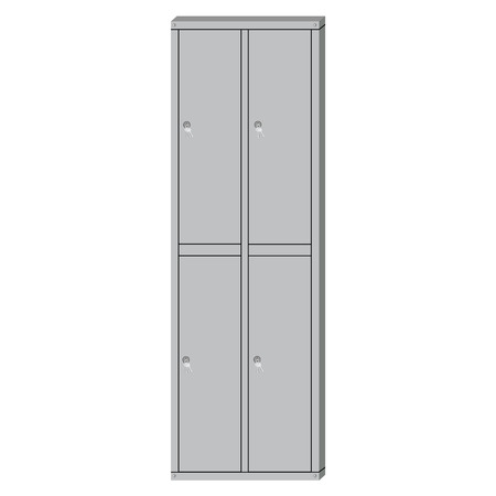 changing room: Raster illustration metal school sport locker. Gym locker. Locker door. Deposit locker
