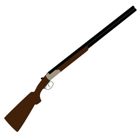 Hunting rifle raster isolated,rifle shooting, shooting sport