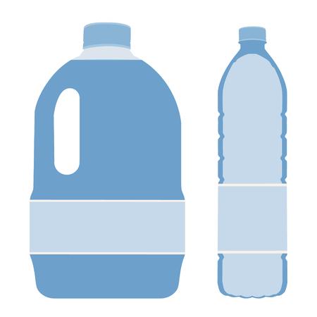 Big bottle water, bottle water, gallon, drinking water, bottle water isolated Stock Photo
