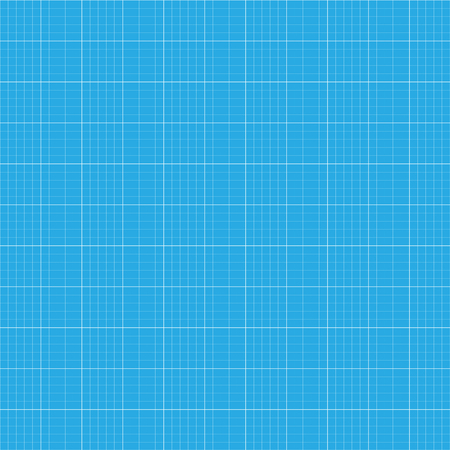 Raster illustration graph plotting grid paper  pattern, texture. Square grid background. Seamless millimeter paper Stock Photo