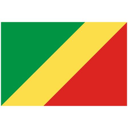 República democrática del congo icono de la bandera Foto de archivo - 90109818