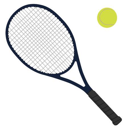 Tennis racket, tennis ball, tennis raquet, sport equipment