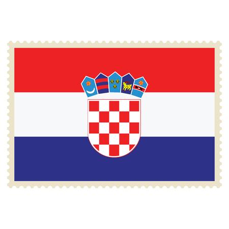Vector icon of Croatian flag