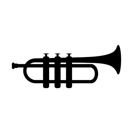 Trupmet music instrument raster icon