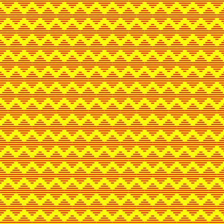 Abstract geometric hipster fashion design print triangle, rhombus pattern Illustration