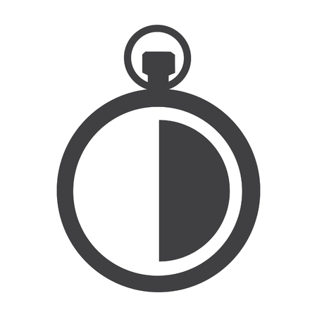 clock raster icon stopwatch sign symbol 30 minute timer stock