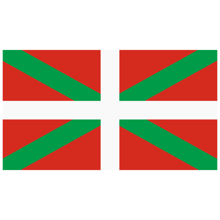 Basque Country flag, region of Spain. Spanish province flag. Raster background community of the Basque.
