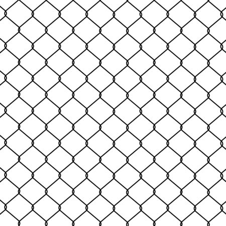Chain link Fence. Seamless pattern, background