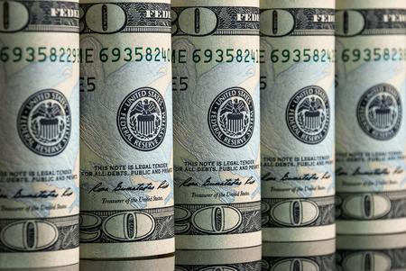 heap of dollar: Dollars Stock Photo