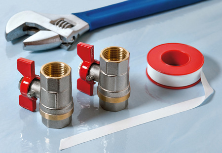 gasket: Valves for hot water and PTFE gasket