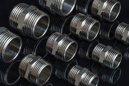 Many connectors Stock Photo