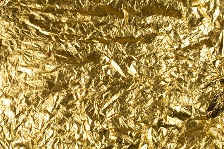 foil: sfondo con una lamina d'oro per il design Archivio Fotografico