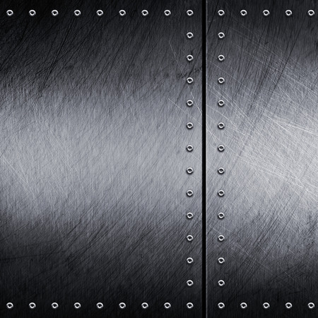 rivets: Metal grunge texture with rivets
