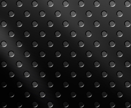 black textured background: Black metal grill textured background Stock Photo