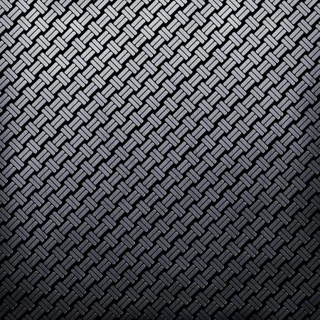 diamond shaped: Shiny metallic texture with diamond shaped rivets