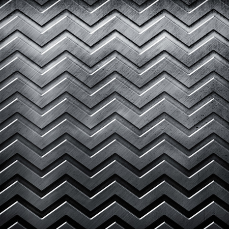 hard alloy: Old metal background with a wave textured