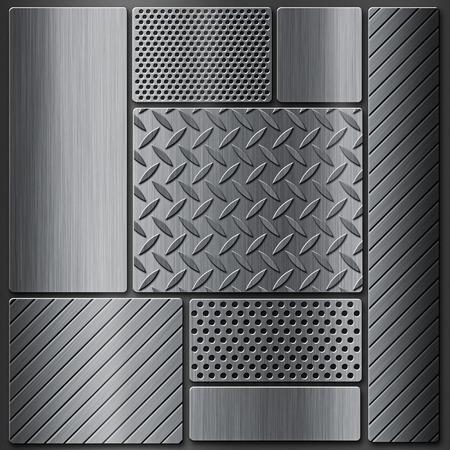 rodamiento: Fondo del metal con una textura de la banda de rodadura