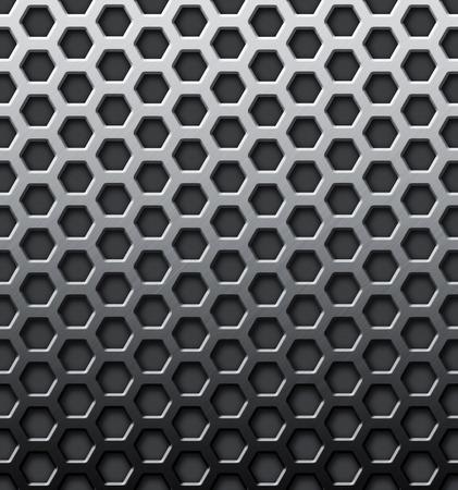 shiny metal background: Shiny metal textured background