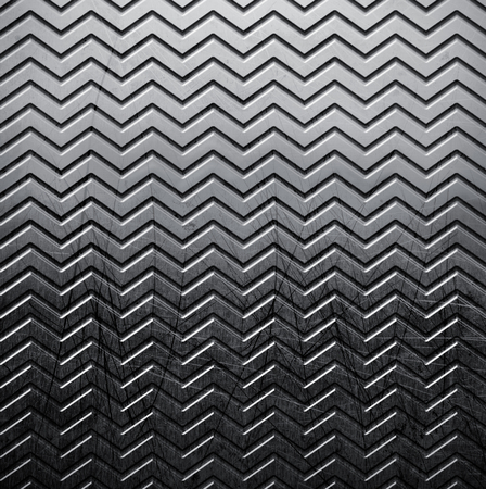 metal textures: The metal grunge textures background with wave tread Stock Photo