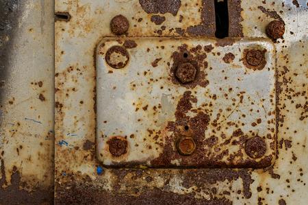 obsolete: Obsolete rusty metal background Stock Photo
