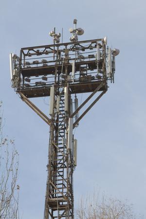 side lighting: reverse side of the stadium lighting towers