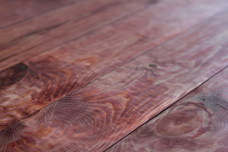 laths: red wood texture of the boards in the downed shield Stock Photo