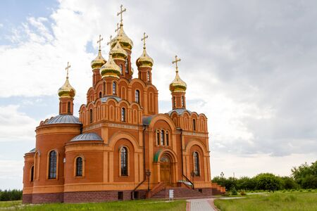 Achair monastery located in Siberia near the city of Omsk
