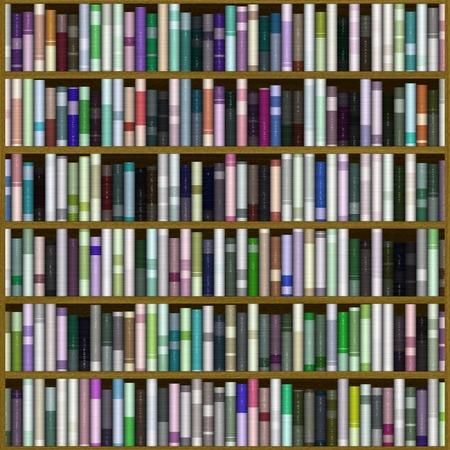 Bücherregal Textur Standard-Bild - 49107916