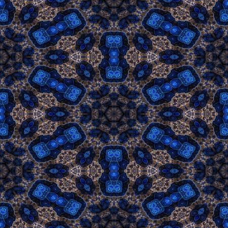 kaleidoscopic: Kaleidoscopic wallpaper tiles Stock Photo