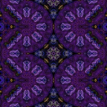 Kaleidoscopic wallpaper seamless loop animation
