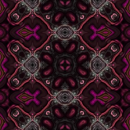 bucle: Kaleidoscopic wallpaper seamless loop animation