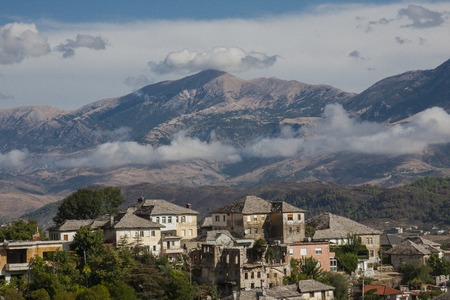 Gjirokaster is a city in southern Albania. Its old town, described as a rare example of a well-preserved Ottoman town, built by farmers of large estate