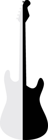 amplified: Silhouette guitar