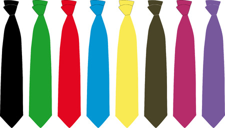 father s day: Ties Illustration