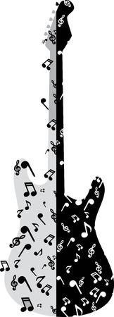 transcribe: abstract guitar