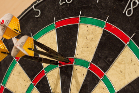 doubling: Darts. 180 points. Maximum set. Lucky shot.