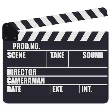 Movie cracker. Single icon in cartoon style Ilustração