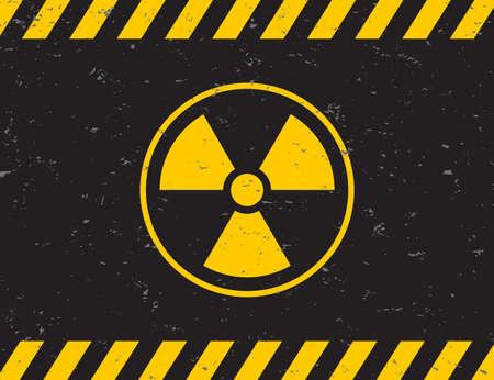 Radiation symbol. Biohazard sign